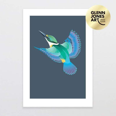 Glenn Jones Art Skyward - Limited Edition Art Print Art Print A3 Print / Unframed