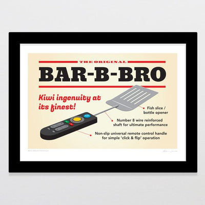 BBQ Breakthrough Art Print-Glenn Jones Art