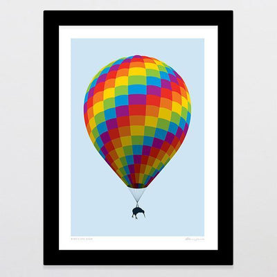 Birds Eye View Art Print-Glenn Jones Art