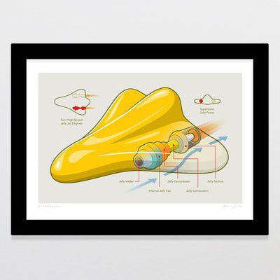 Jet Propulsion Art Print-Glenn Jones Art
