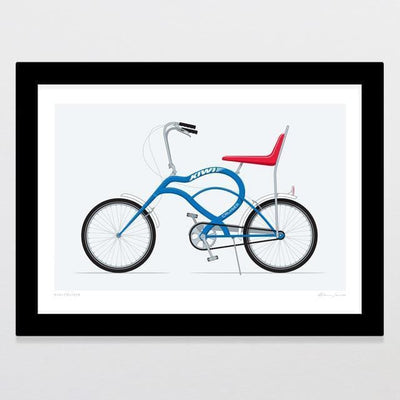 Kiwi Cruiser Art Print-Glenn Jones Art