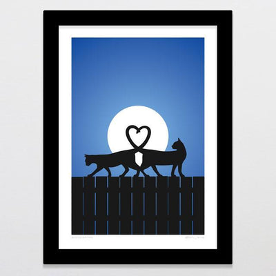 Moonlighting Art Print-Glenn Jones Art