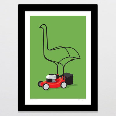 Motor Moa Art Print-Glenn Jones Art