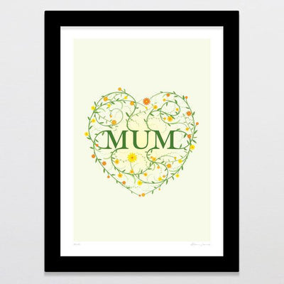 Mum Art Print-Glenn Jones Art