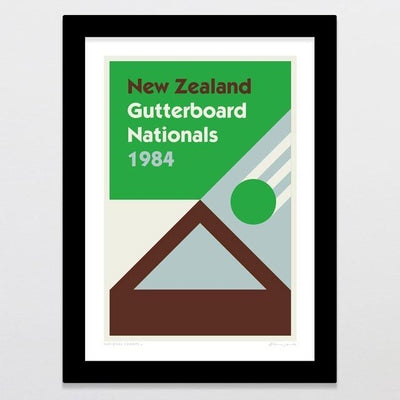 National Champs 4 - Gutterboard Art Print-Glenn Jones Art