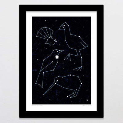 Natives By Night Art Print-Glenn Jones Art