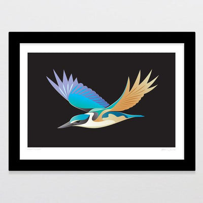 Night Flight Art Print-Glenn Jones Art