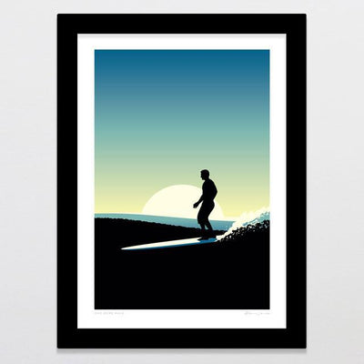 One More Wave Art Print-Glenn Jones Art