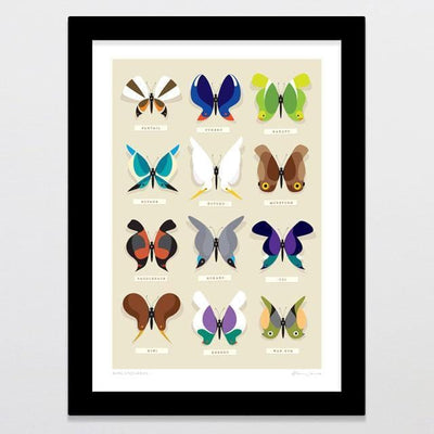 Rare Specimens Art Print-Glenn Jones Art