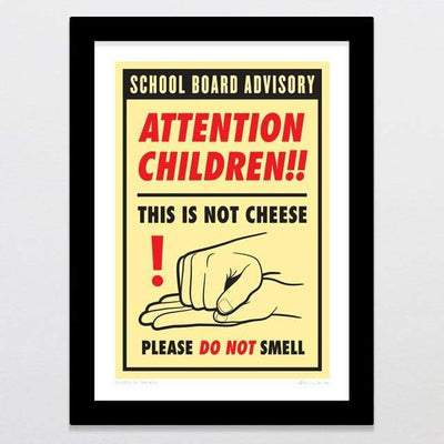 School In The 80's Art Print-Glenn Jones Art