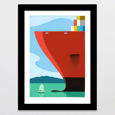 Shipping Lane Art Print-Glenn Jones Art