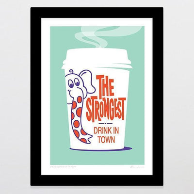 Strongest Drink in Town Art Print-Glenn Jones Art