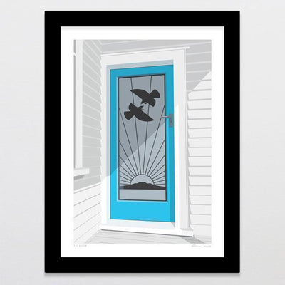 Tui Door Art Print-Glenn Jones Art