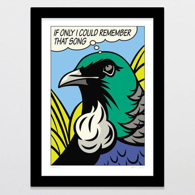 Urban Tui Art Print-Glenn Jones Art