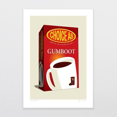 Choice Brew Art Print-Glenn Jones Art