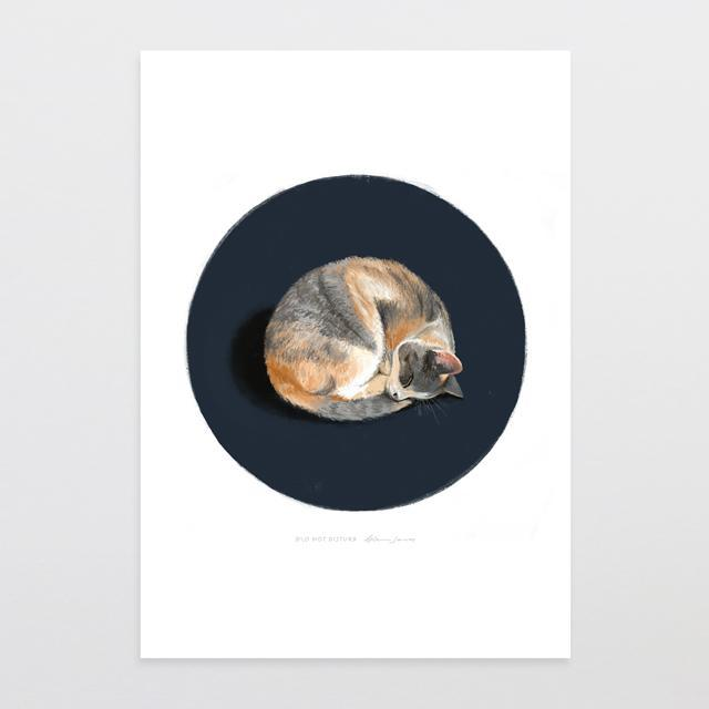 Do Not Disturb Art Print-Glenn Jones Art