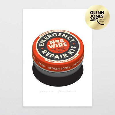 Easy Fix - A4 Limited Edition Art Print-Glenn Jones Art