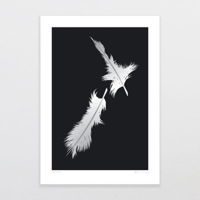 Feathers Art Print-Glenn Jones Art