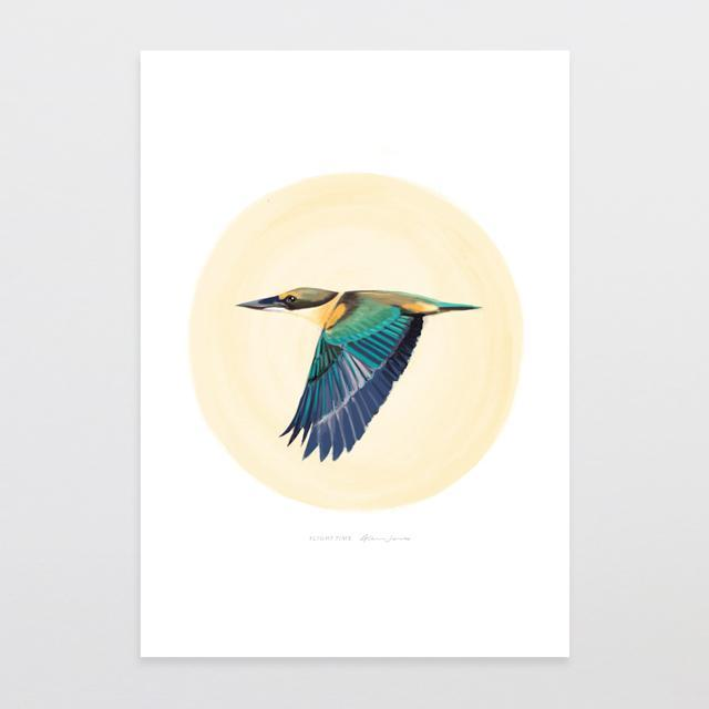 Flight Time Art Print-Glenn Jones Art