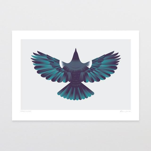 Forest Flight Art Print-Glenn Jones Art