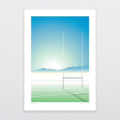 Game Day Art Print-Glenn Jones Art