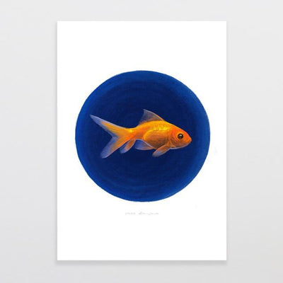 Goldie Art Print-Glenn Jones Art