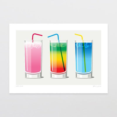 Happy Hour Art Print-Glenn Jones Art