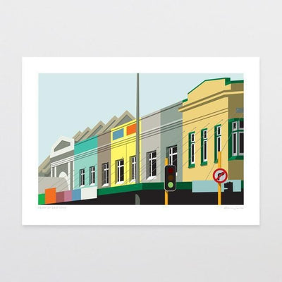 Heart Of Grey Lynn Art Print-Glenn Jones Art