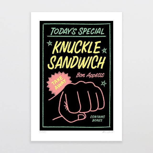 Hungry? Art Print-Glenn Jones Art