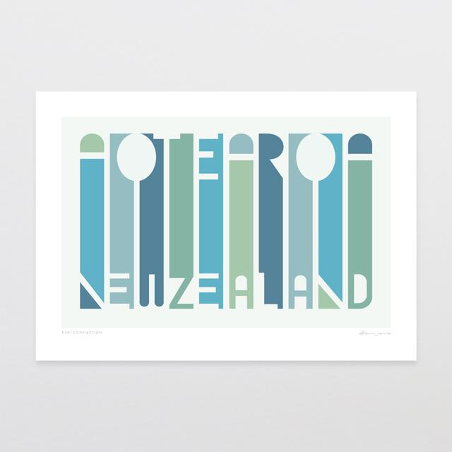 Glenn Jones Art Kiwi Connection Art Print Art Print A4 Print / Unframed