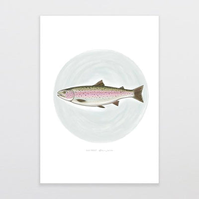 Old Trout Art Print-Glenn Jones Art