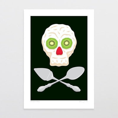 Pavlova Pirate Art Print-Glenn Jones Art