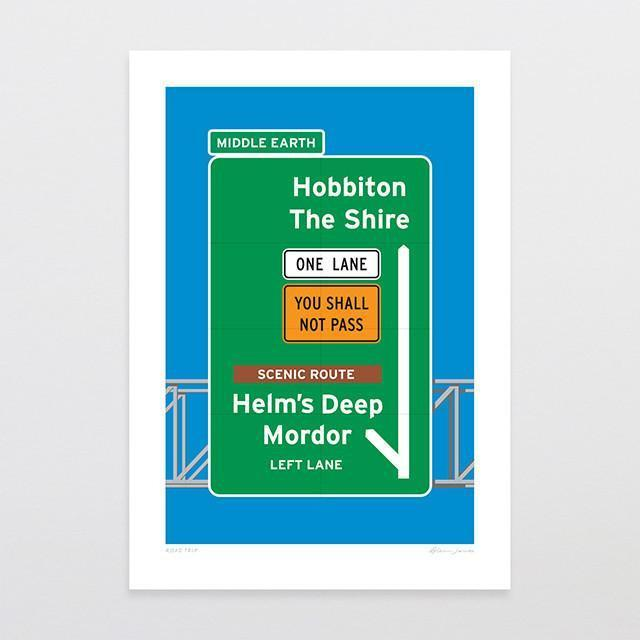 Road Trip Art Print-Glenn Jones Art