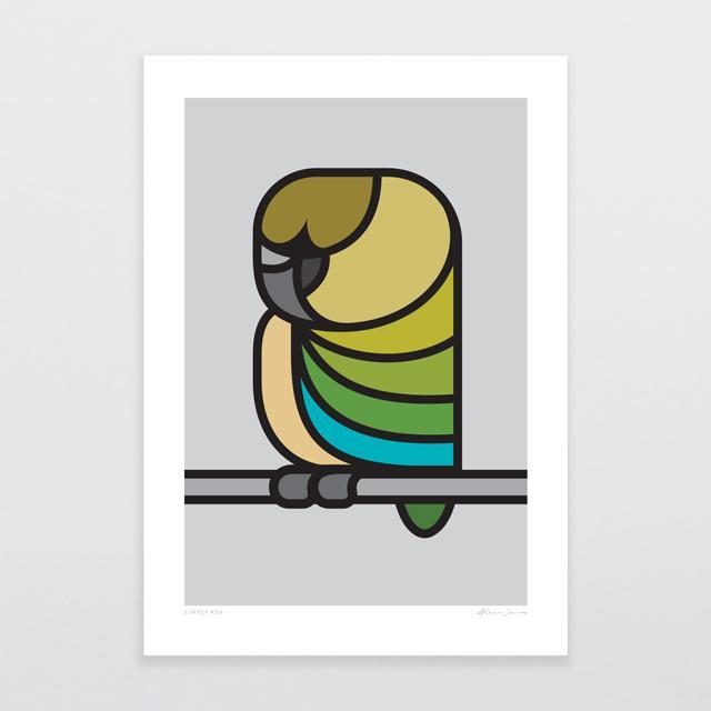 Simply Kea Art Print Art Print-Glenn Jones Art