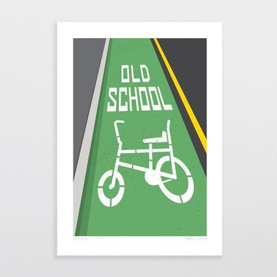 Slow Lane Art Print-Glenn Jones Art