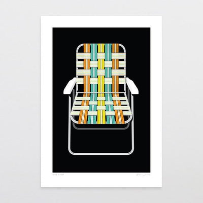 Take A Seat Art Print-Glenn Jones Art