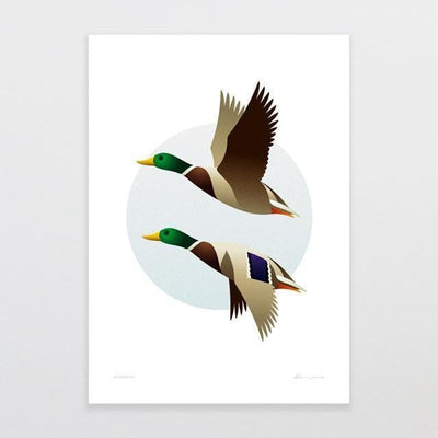 Wingman Art Print-Glenn Jones Art