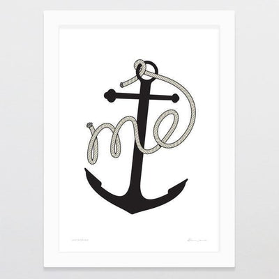 Anchor Me Art Print-Glenn Jones Art