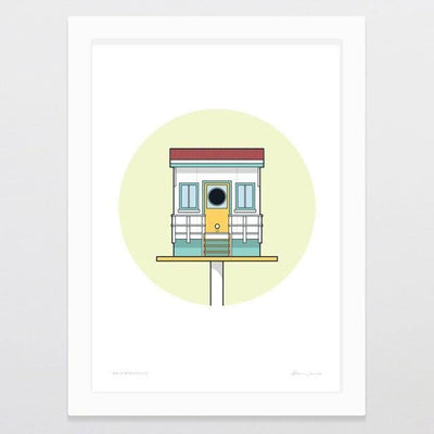 Birdhouse Bach Art Print-Glenn Jones Art