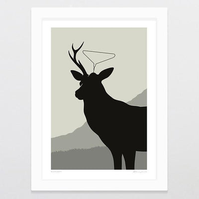 Bushcraft Art Print-Glenn Jones Art