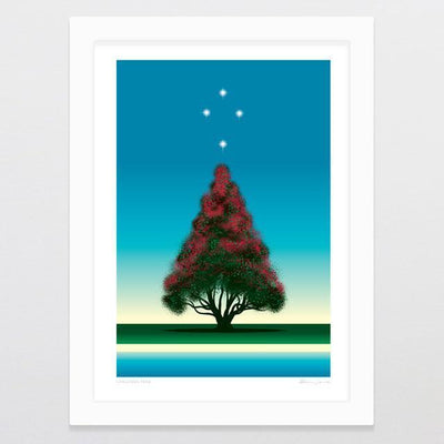 Christmas Tree Art Print-Glenn Jones Art