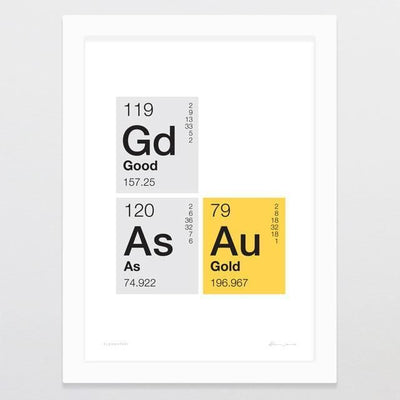 Elementary Art Print-Glenn Jones Art