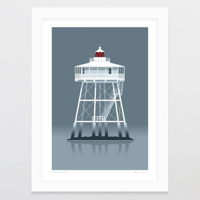 Harbour Master Art Print-Glenn Jones Art