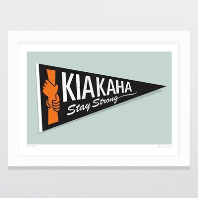 Kia Kaha Art Print-Glenn Jones Art