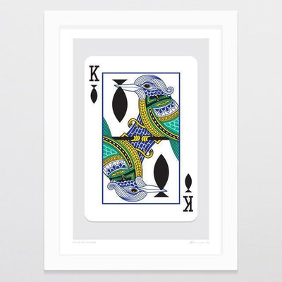 King Of Fishers Art Print-Glenn Jones Art