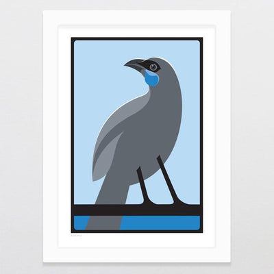 Kokako Art Print-Glenn Jones Art