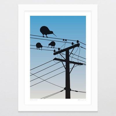Local Flock Art Print-Glenn Jones Art