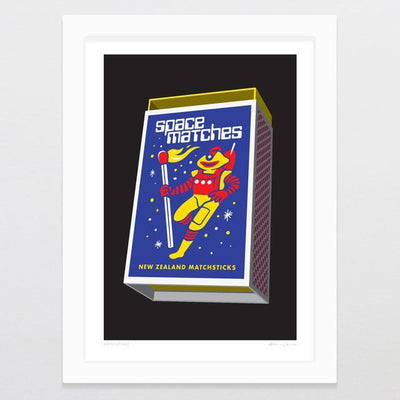 Matchsticks Art Print-Glenn Jones Art