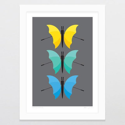 Rain Butterflies Art Print-Glenn Jones Art