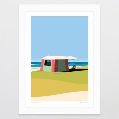 Seaview Suite Art Print-Glenn Jones Art